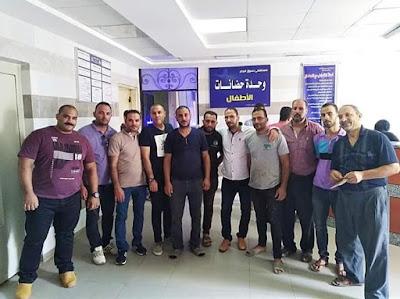 شباب دسوق يبهرون الجميع بمبادرة لتطوير المستشفى العام