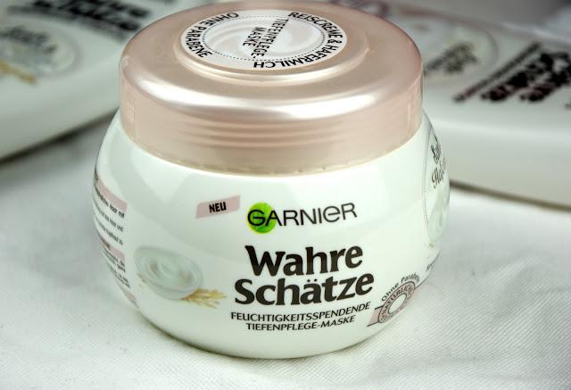 Review Garnier Wahre Schätze Feuchtigkeitsspendende Tiefenpflege-Maske