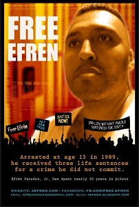 Free Efren Poster 5.5.2016