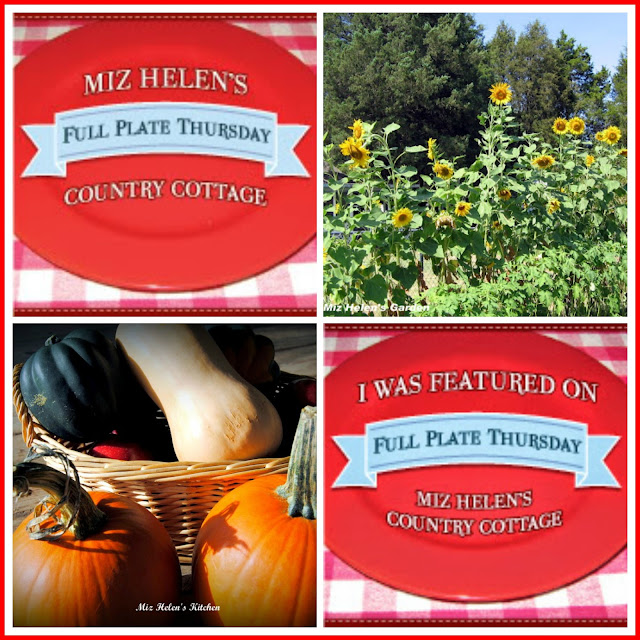 Full Plate Thursday, 396 at Miz  Helen's Country Cottage