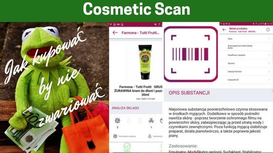 Cosmetic Scan - 8 aplikacji na telefon, które ułatwią Ci zakupy