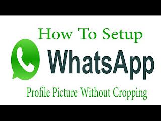 Cara Upload Foto Full Screen ke Whatsapp