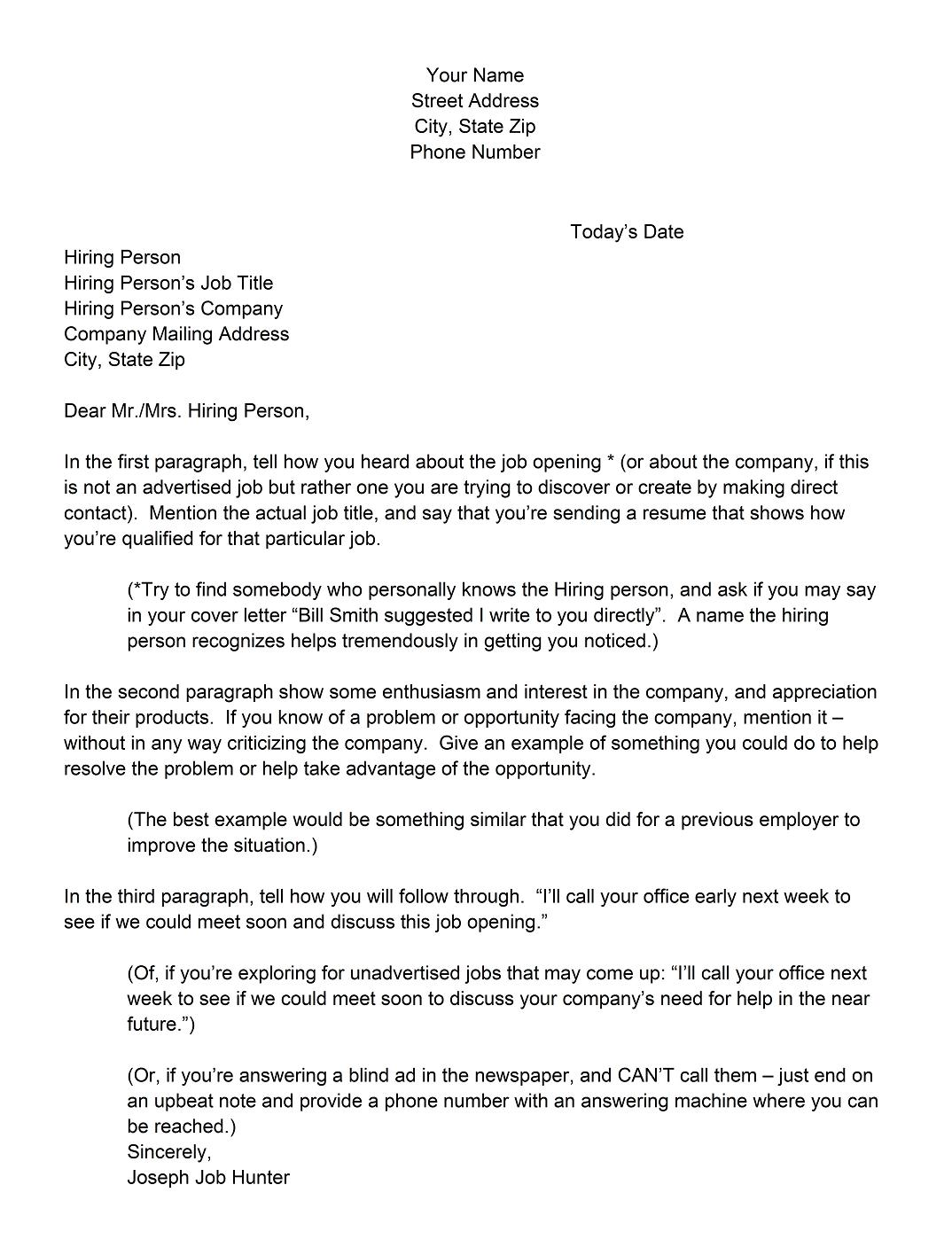 how to wirte a cover letter - 5 way to writing the best cover letter example for resume