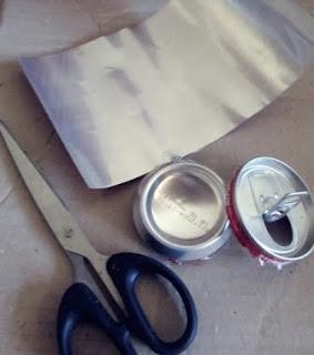 kaleng di gunting