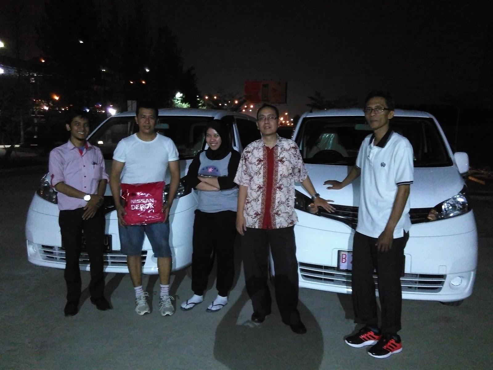 Terimakasih atas kepercayaan Pak Pudiyar PT.APP yg telah membeli Nissan New Evalia melalui media www.touchnissan.com.  Semoga Berkah ya Pak...
