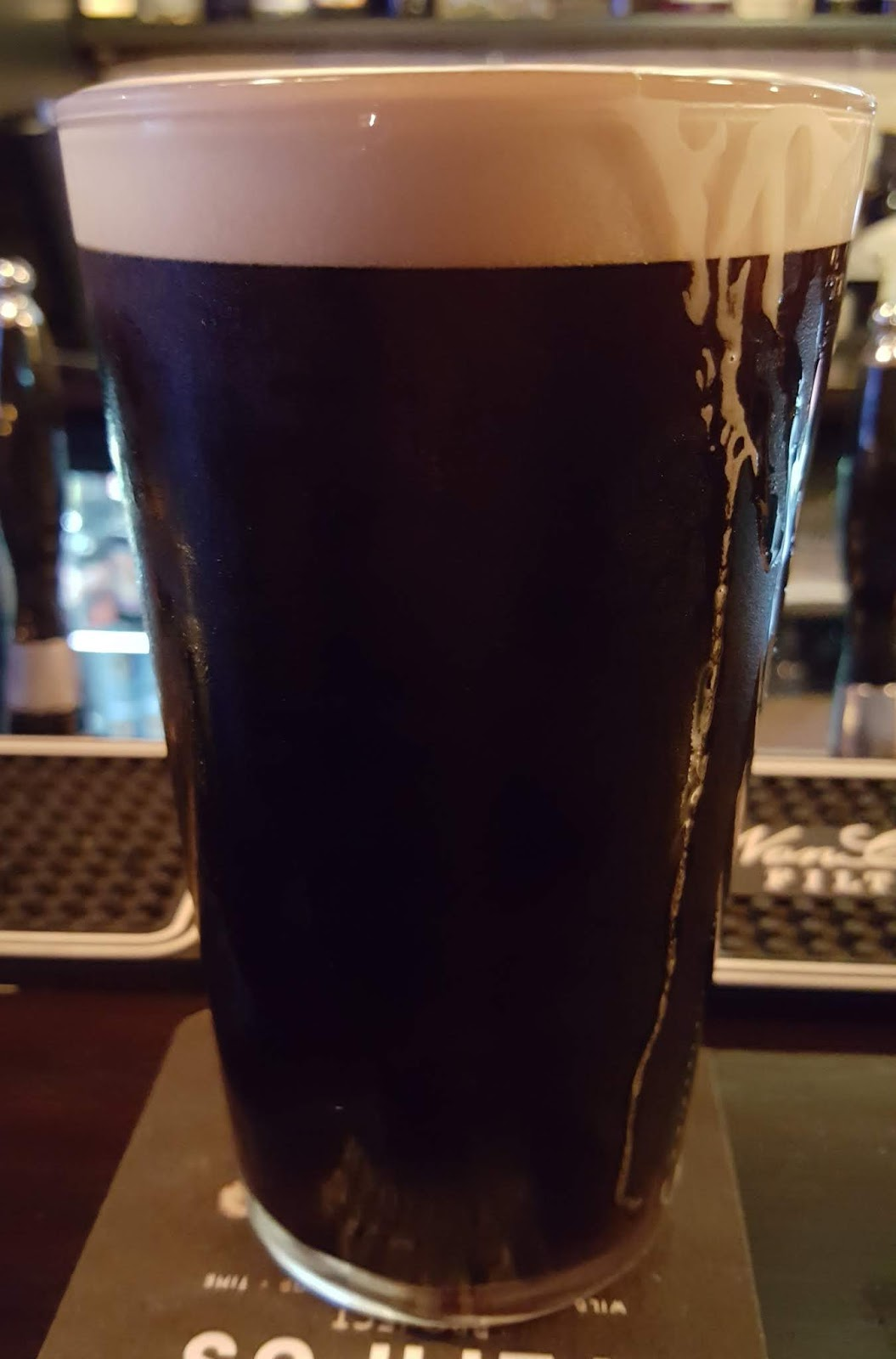 And A Final Addition To The Round Up Comes In The Form Of Dark Side A New Nitro Stout From Larkins Im Guessing This Is Intended As A Core Beer