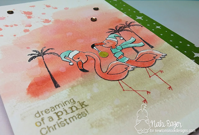 Newton's Nook Designs Festive Flamingos Set - Naki Rager