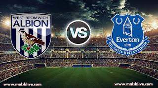 مشاهدة مباراة إيفرتون و وست بروميتش ألبيون Everton FC vs West Bromwich Albion FC بث مباشر بتاريخ 20-01-2018 الدوري الانجليزي