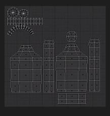 UV Map of an object in Blender