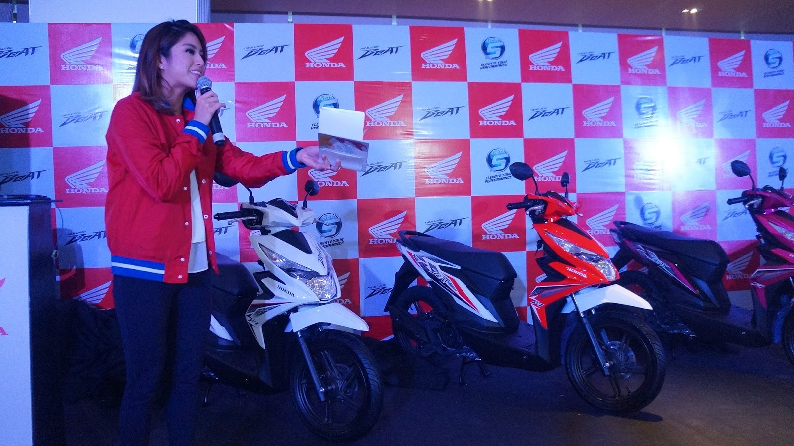 Honda Philippines Launches The All New Beat Scooters For Sporty Esp Cbs Iss 2017 Event Was Hosted By Gretchen Ho Who Is Also Active In Sports Activities And A Host Morning Tv Show At Umagang Kay Ganda Of Abs Cbn