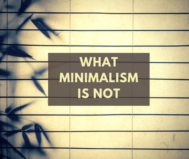 What Minimalism is not
