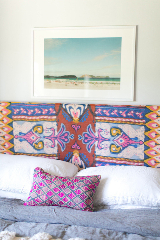 The colorful home of Amber Lewis. Photos by  Bryce Covey via Style Me Pretty.