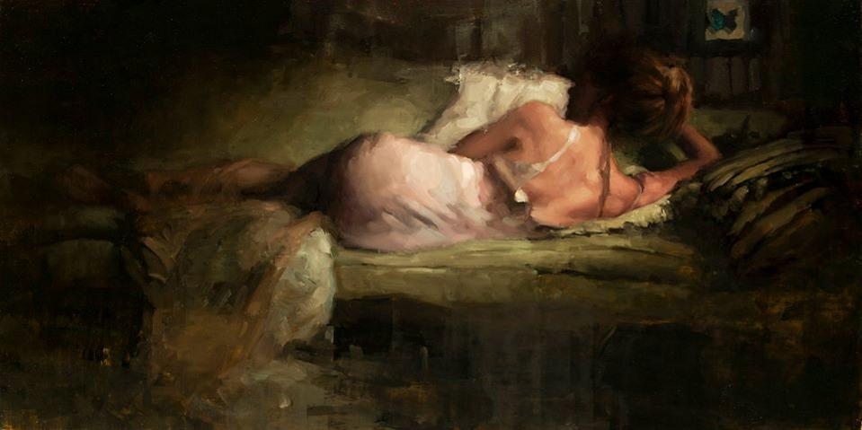 Desnudos Femeninos Pintura - Pintura Moderna y
