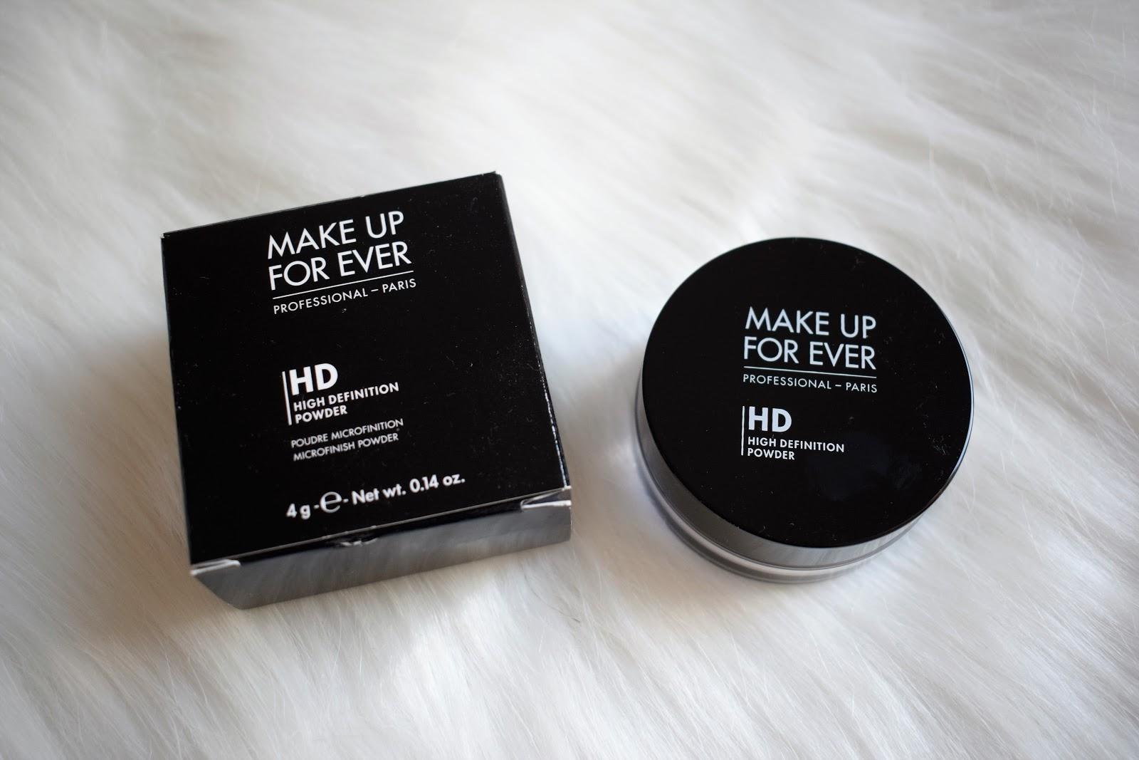 MAKE UP FOREVER HD HIGH DEFENITION POWDER