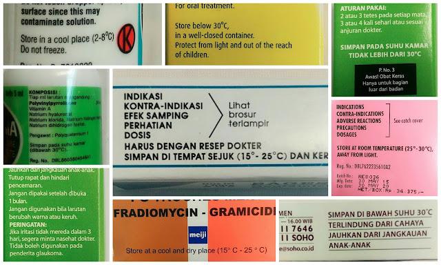 petunjuk penyimpanan obat