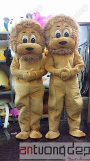 may bán mascot sư tử