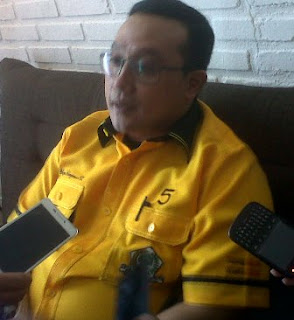 Ketua DPD II Partai Golkar Surabaya Blegur Prijanggono