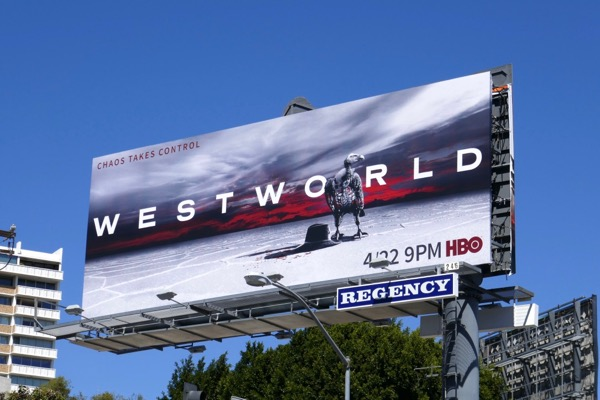 Westworld season 2 billboard
