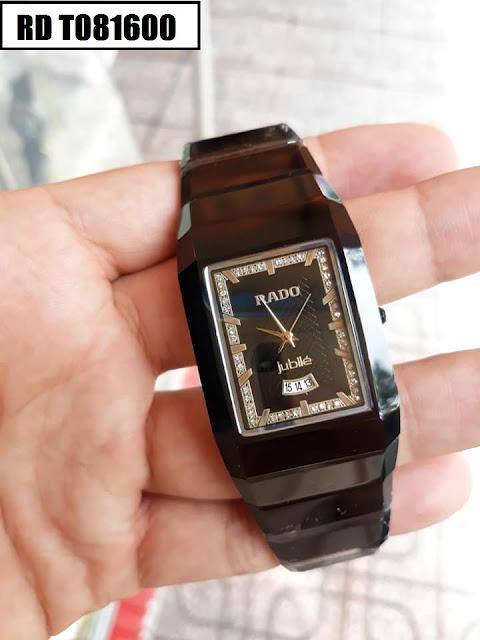 Đồng hồ nam mặt chữ nhật Rado RD T081600