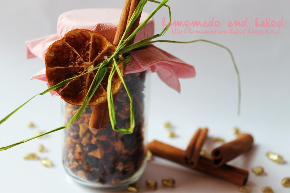 Homemade And Baked Food Blog Winterpunsch Aus Dem Glas
