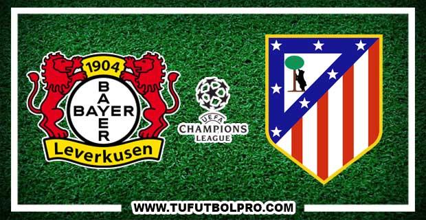 Ver Bayer Leverkusen vs Atlético Madrid EN VIVO Por Internet Hoy 21 de Febrero 2017