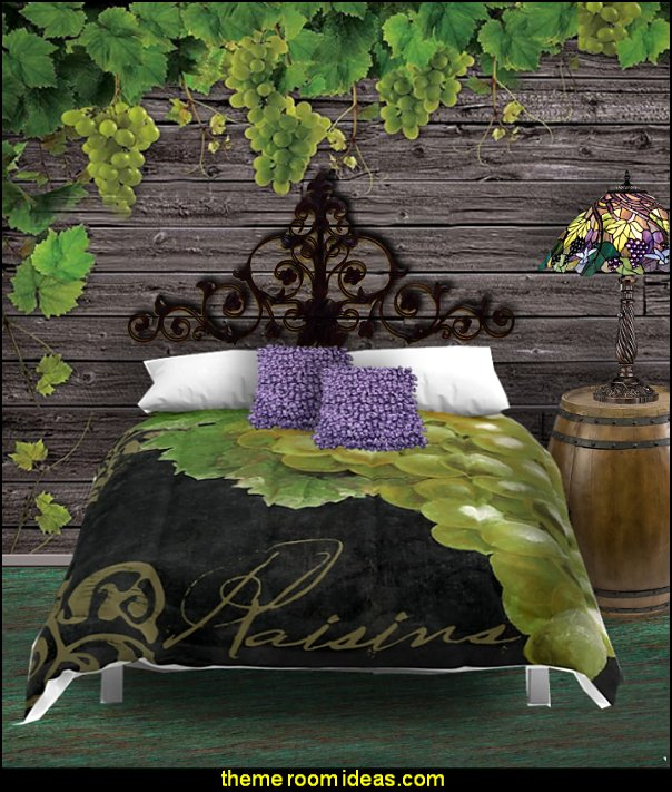 tuscan grapes bedrooms  Tuscan theme decor - grape decor - wine barrel decor - Tuscan theme decorating ideas - rustic decorating ideas old world furniture - Tuscan decor - Tuscan themed bedroom decor - Tuscany vineyard style decorating - rustic decor - Italian cafe - Tuscan themed kitchen accessories - Tuscan wall murals - Tuscan bedroom ideas - Venice Italy decorating ideas - Tuscany kitchen decor - wine kitchen decor - Tuscan style decorating - Italian-inspired Living - Tuscan vineyard style decorating