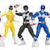Novos bonecos de Power Rangers no Espaço serão lançados
