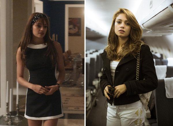 Figurino de Alice (Sophie Charlotte) na série Os dias eram assim