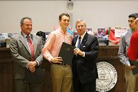 Montgomery Catholic Cross Country Teams Honored by Mayor Strange 4