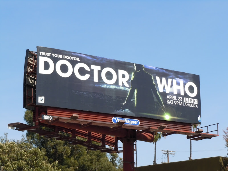 Doctor Who season 6 USA billboard