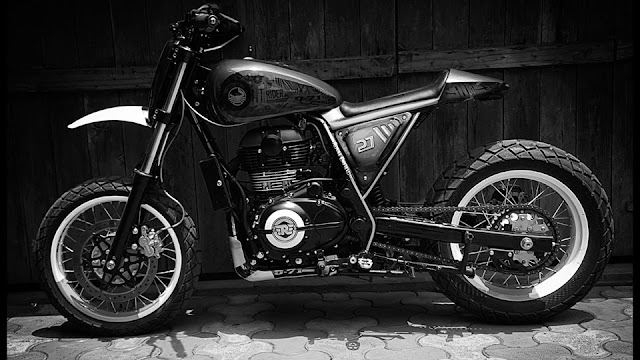 Bulleteer Customs Himalayan D 71 Fiddler