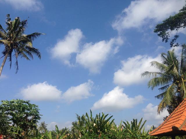 aide leit-lepmets bali inspiratsioon pilved sinine taevas