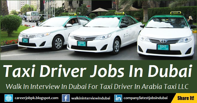 Dubai Taxi Jobs