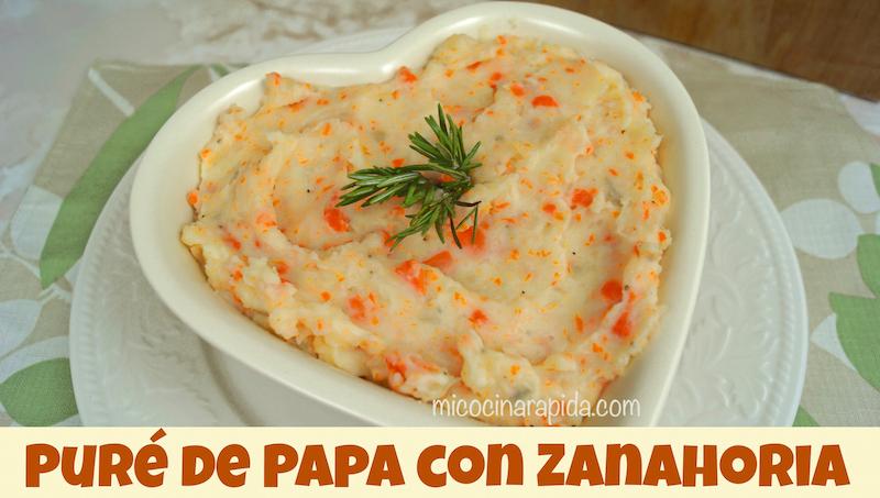 Recetas con zanahoria y papa
