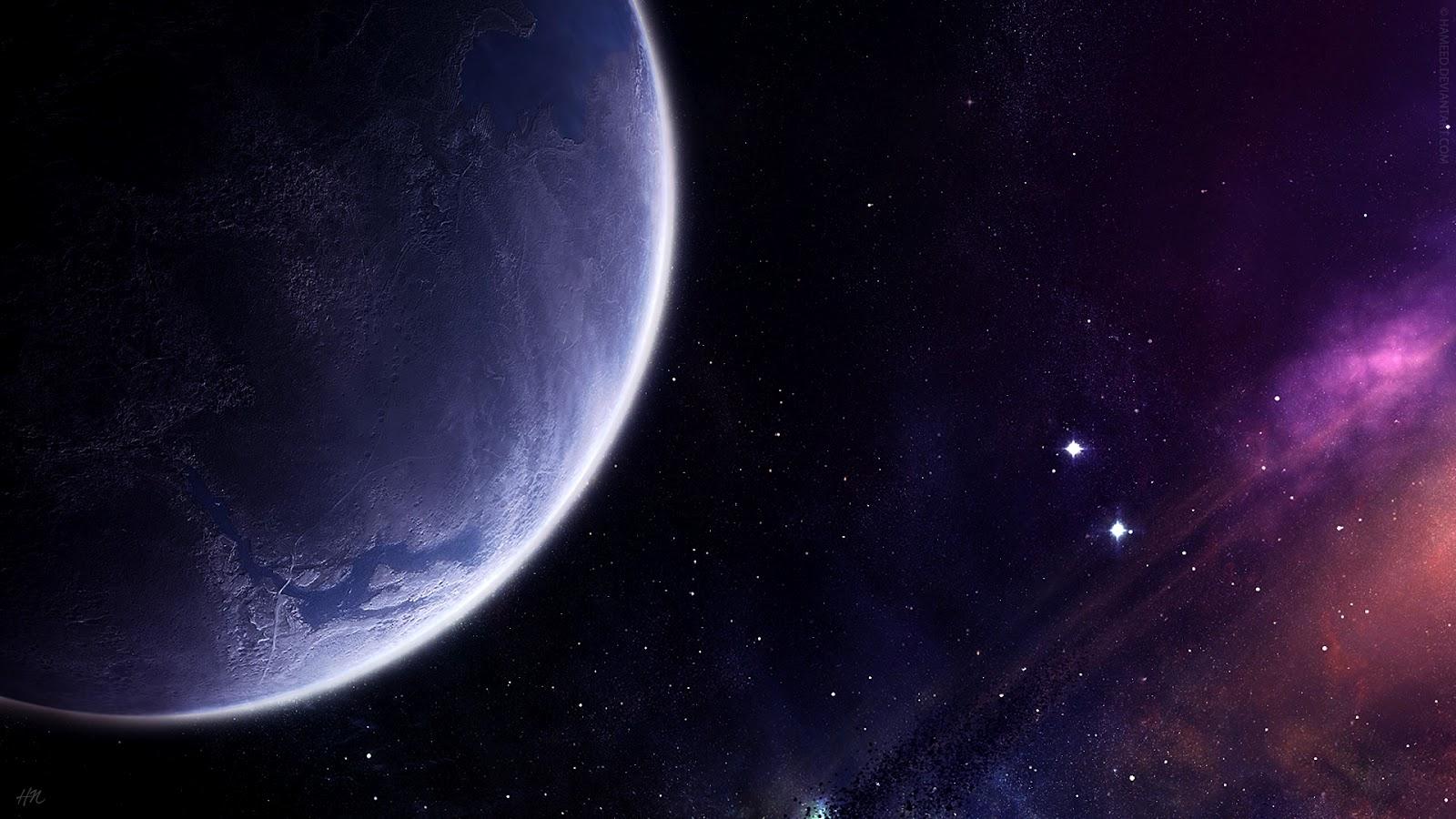 Planeta Estrellas Y Nebulosas