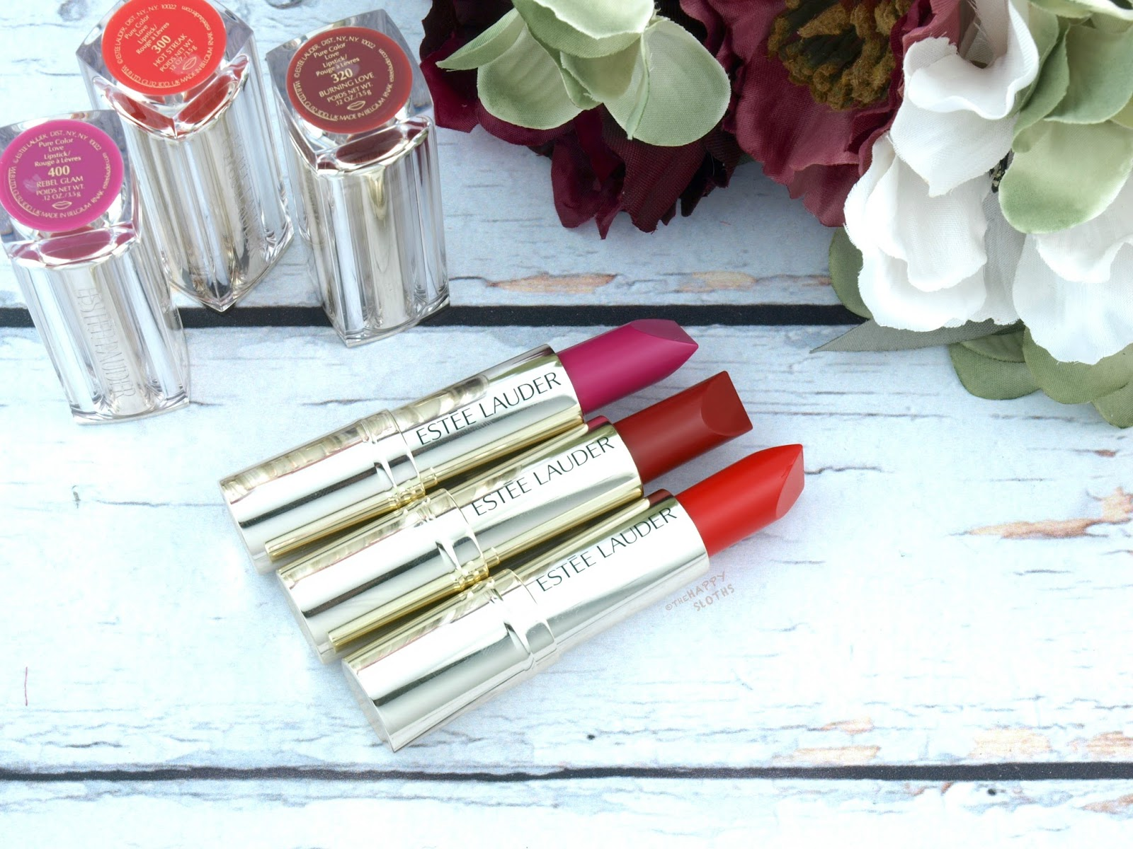 Estee Lauder Pure Color Love Lipstick: Review and Swatches