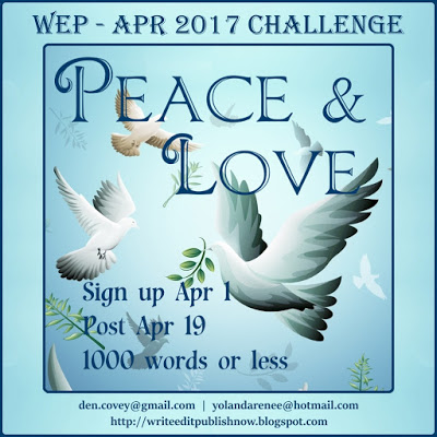 WEP CHALLENGE FOR APRIL, FITTED TO THE A - Z CHALLENGE.