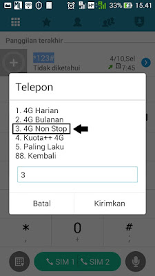 paket internet tri 35GB 4G nonstop