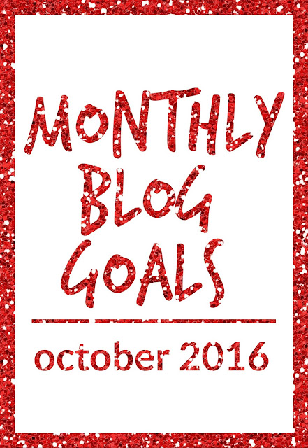 Monthly Blog Goals: October 2016 | CosmosMariners.com