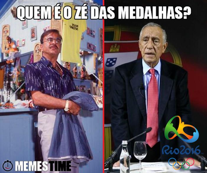 Memes Time Zé das Medalhas e Marcelo Rebelo de Sousa – Quem é o Zé das Medalhas?