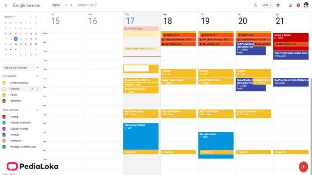 Cara Menampilkan Hari Libur di Kalender