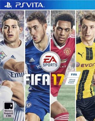 Fifa17 - FIFA 17 PS VITA MOD (VPK/MAI)
