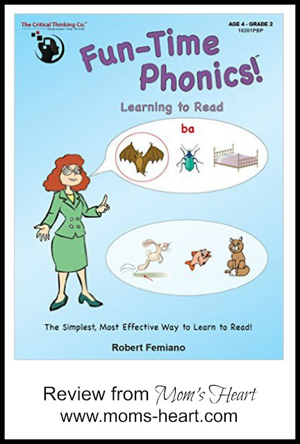 Fun-Time Phonics! from The Critical Thinking Co.