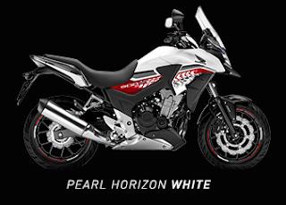 Motor Honda CB500X terbaru 2016 putih