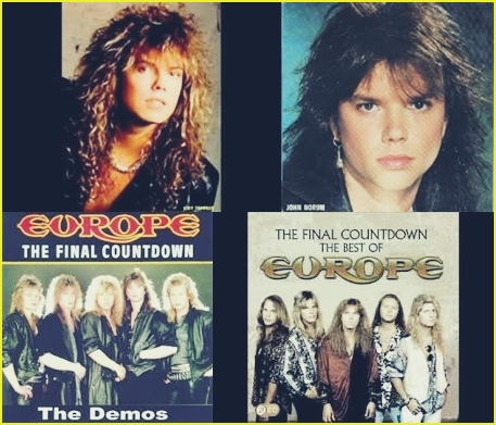 Contoh Cover Album The Final Countdown - Europe