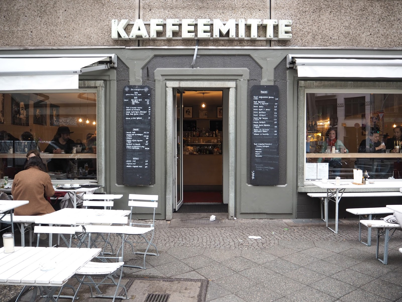 Cake at Kaffeemitte cafe in Berlin