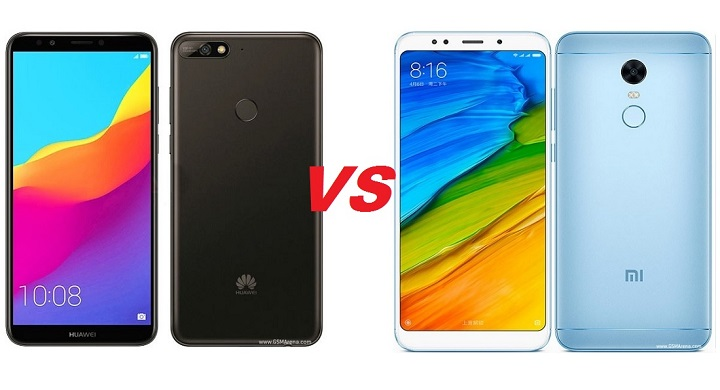 Huawei Y7 2018 VS Xiaomi redmi 5 plus