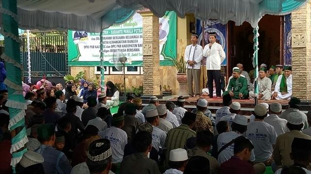 Habib H Said Ismail Ajak Warga Do'akan H Nadalsyah-Sugianto Panala Putra