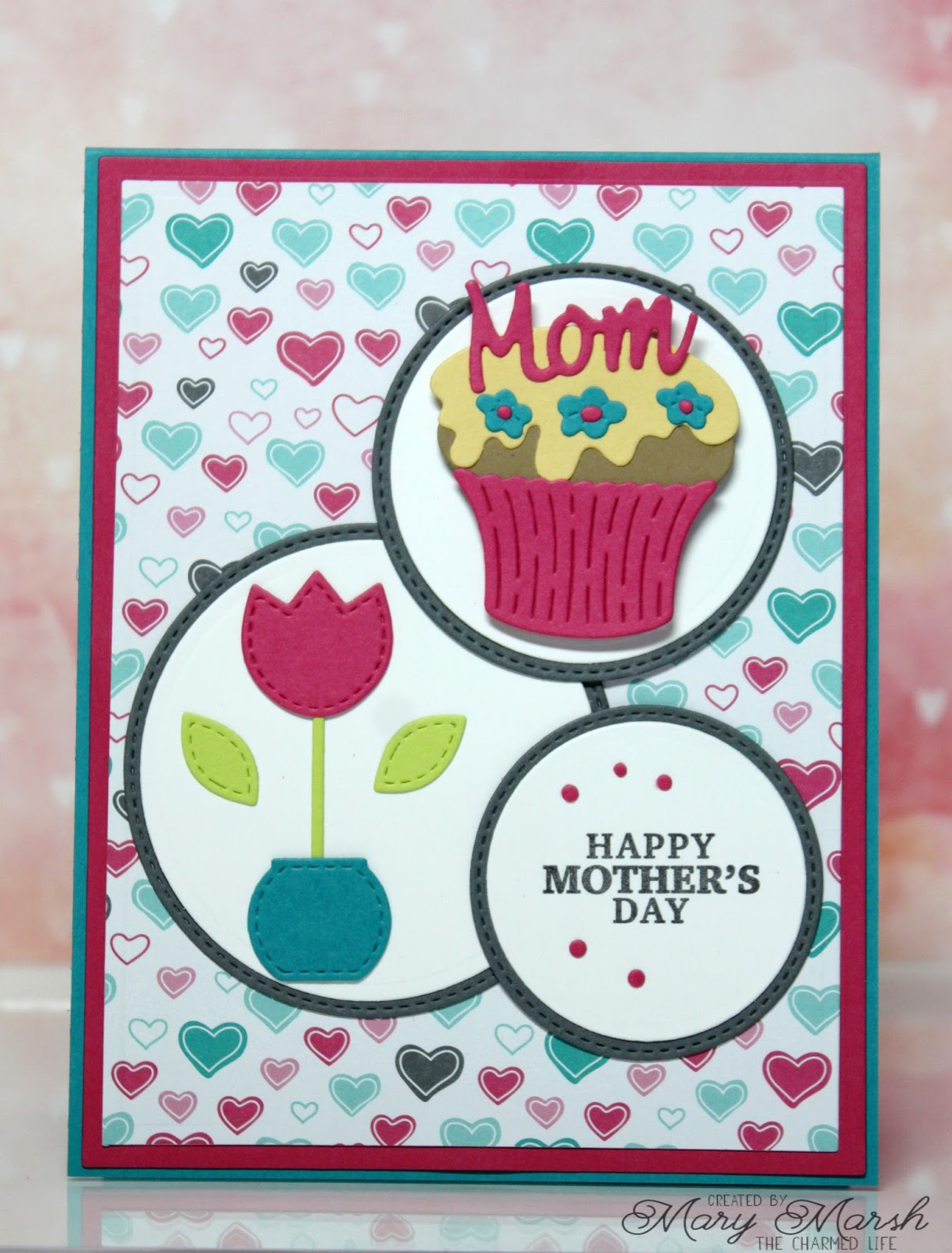 scrapping cottage Mother's Day Cupcake에 대한 이미지 검색결과