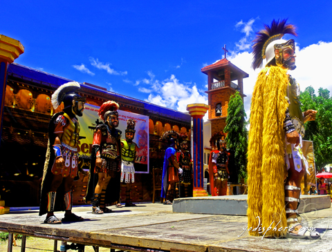 Moriones during the re-enactment of the crucifixion in Torrijos Marinduque Philippines